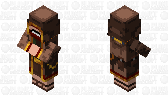 Wandering notch Minecraft Skin
