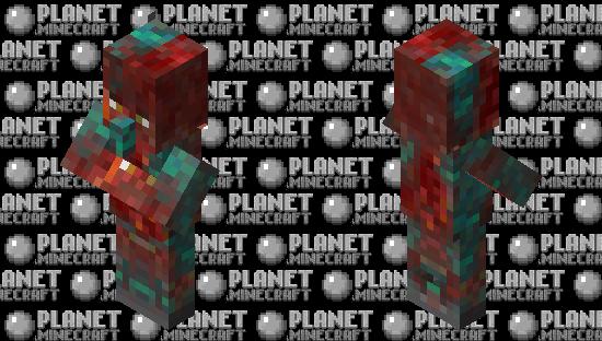 Corrupted Villager Minecraft Skin