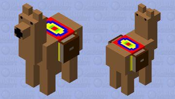 traveler's llama Minecraft Mob Skin