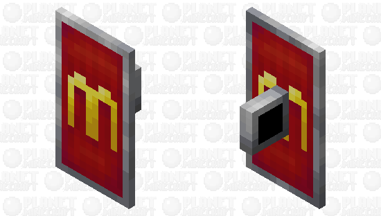 McDonalds shield Minecraft Skin