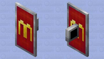 McDonalds shield Minecraft Mob Skin