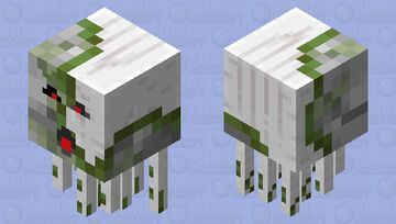 Neutral Zombified Shooting Ghast Minecraft Mob Skin