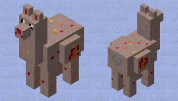 Smoke-Fire Elemental 3 Minecraft Mob Skin