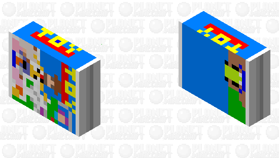 VHS Box Silverfish Minecraft Skin