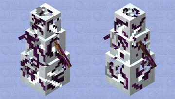 corrupt ender snowman Minecraft Mob Skin
