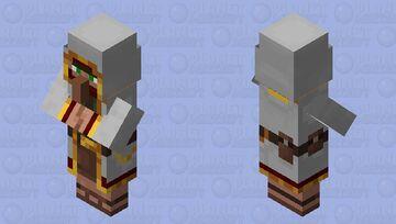 White Wandering Trader Minecraft Mob Skin