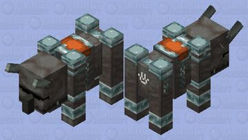 wierd ravenger Minecraft Mob Skin