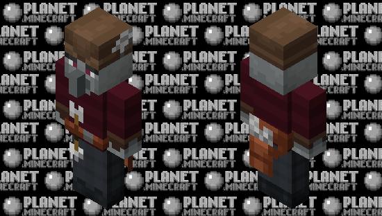 Illager Fletcher Minecraft Skin