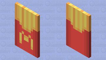 Mcdonald's Fries Cape Minecraft Mob Skin