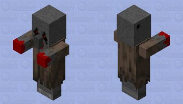Forgotten Villager Minecraft Mob Skin