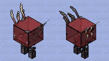 Cartoonish Ghost Strider 2 Minecraft Mob Skin