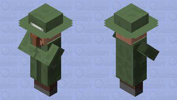 Villager With Hat Minecraft Mob Skin