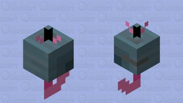 Can O' Worms Minecraft Mob Skin