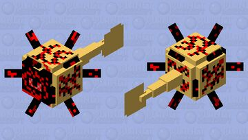 It's breaking out... - Total Nightmare #4 Minecraft Mob Skin