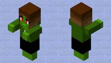 base zombie villager (female) Minecraft Mob Skin