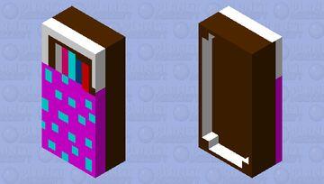 A BOOK SHEFF IN BED Minecraft Mob Skin