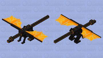 Magma dragon Minecraft Mob Skin