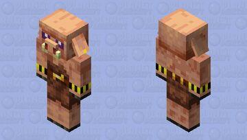 Primitive Piglin Minecraft Mob Skin