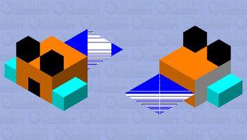 next level puffer fish (small) Minecraft Mob Skin