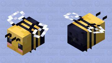 Cutesy Bee Minecraft Mob Skin