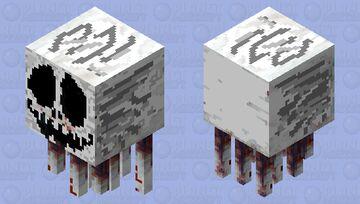 death ghast beatlejuice Minecraft Mob Skin