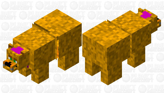 Fred-Bear Minecraft Skin