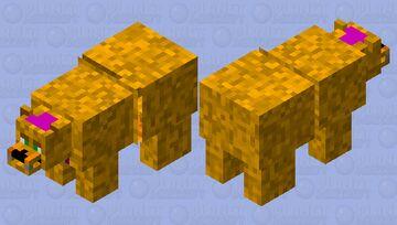 Fred-Bear Minecraft Mob Skin