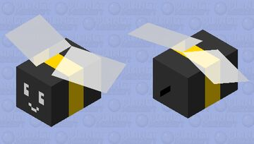 BSS: Basic Bee Minecraft Mob Skin