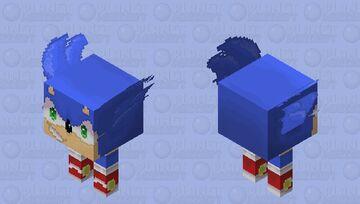 Sonic the Strider Minecraft Mob Skin