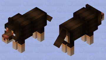 Wolf Skin Minecraft Mob Skin