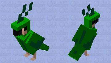 Green Bird Minecraft Mob Skin