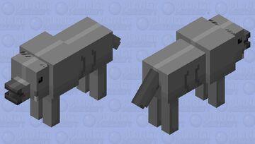 Lystrosaurus (triassic reptile/dino.) Minecraft Mob Skin