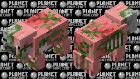Zombie Pig Minecraft Skin