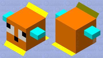 next level puffer fish (medium) Minecraft Mob Skin