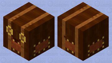 Leather bound chest Minecraft Mob Skin