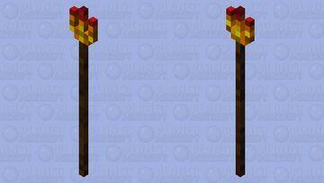 inferno spear Minecraft Mob Skin