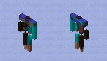 messed up steve armour stand Minecraft Mob Skin