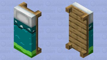 Water Bed Minecraft Mob Skin