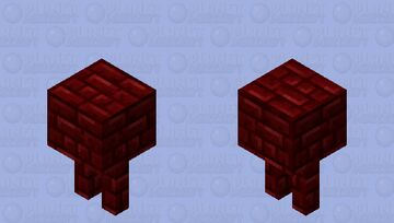 nether brick strider Minecraft Mob Skin