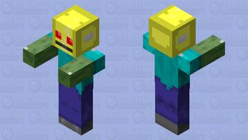 Zombot (Unfinished) Minecraft Mob Skin