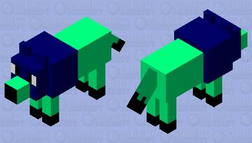 my name is me and i love snacks Minecraft Mob Skin