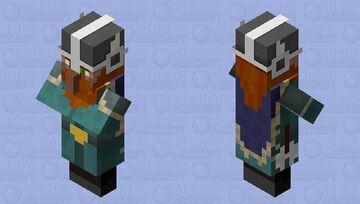 Viking Chieftain (Villager profession variant) Minecraft Mob Skin