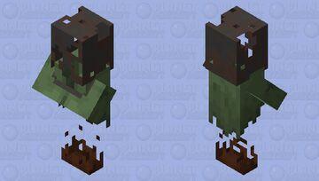 Buckethead Nitwit Minecraft Mob Skin