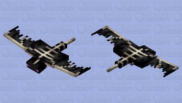 Ender Dragon Phantom Minecraft Mob Skin