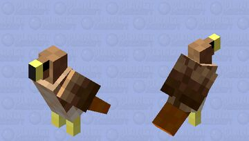 Red-Tailed Hawk Minecraft Mob Skin