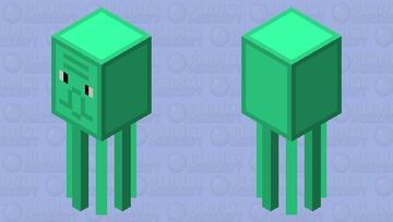 calamardo Minecraft Mob Skin
