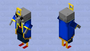 The arch illager Minecraft Mob Skin