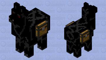 Evil Llama Minecraft Mob Skin