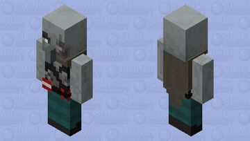 Pillager Brute Minecraft Mob Skin
