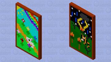 Nature isn't always sunshine and rainbows... Minecraft Mob Skin